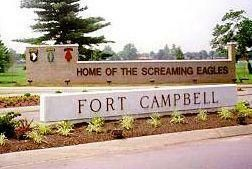 "Fort Campbell, KY ""Home of the Screaming Eagles"""