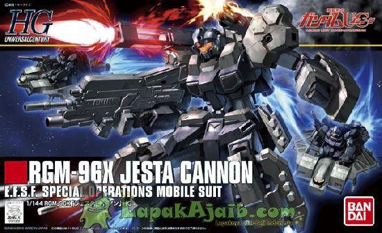 Gundam Hguc 152 Rgm 96x Jesta Cannon