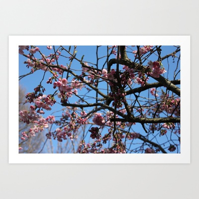 Spring Art Print by Jaana - $17.00