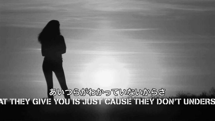 ハンター・ヘイズ -- インビジブル (リリック・ビデオ/日本語字幕入りver.)