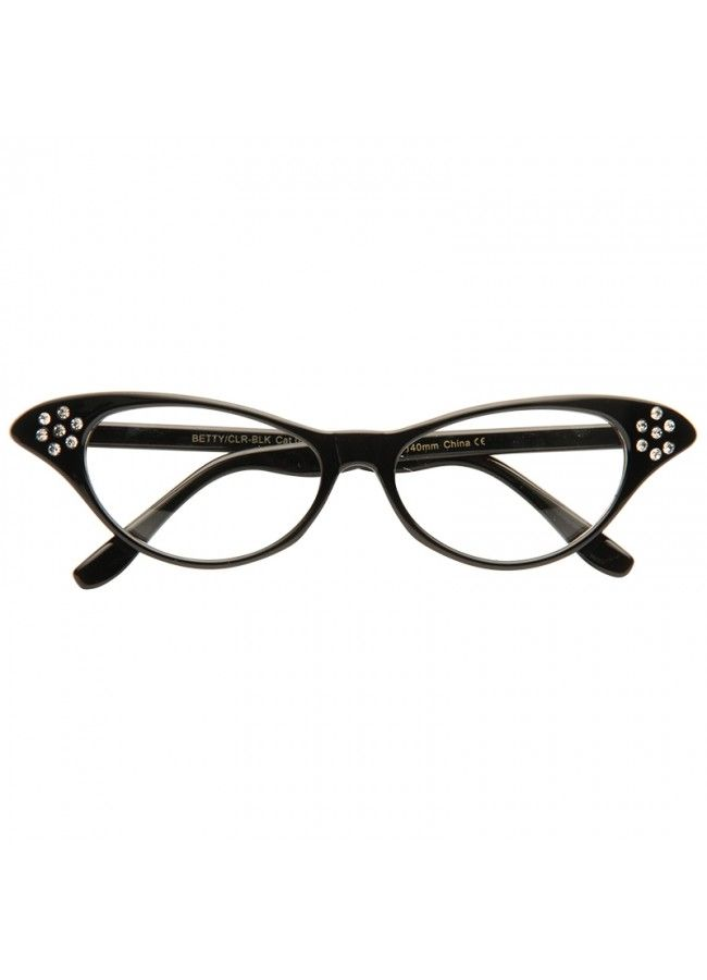 8bfd5bd0ce Clear Cat Eye Glasses