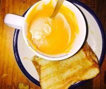 Mummas pumpkin soup