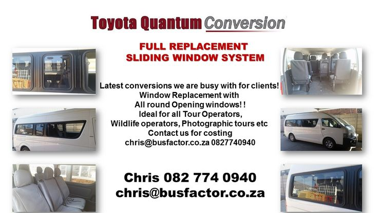 Toyota Quantum rentals for Tourism and Corporate and Private clients  We have a Full fleet of vehicles, Sedans, Cars, Panelvans, Mini buses. We can deliver