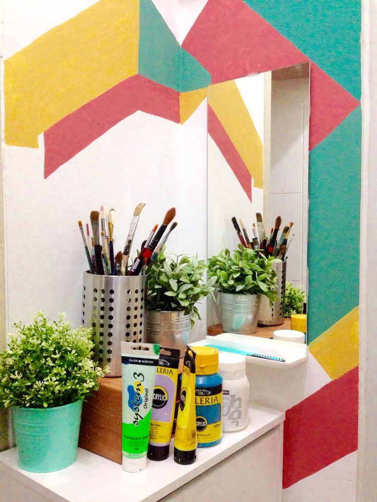 #toilet #mural #design #home #decor