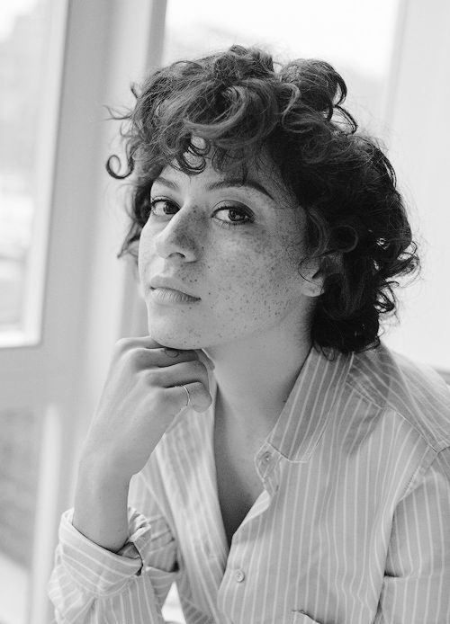 Alia Shawkat photographed by Sunny Shokrae for 'Nylon' magazine