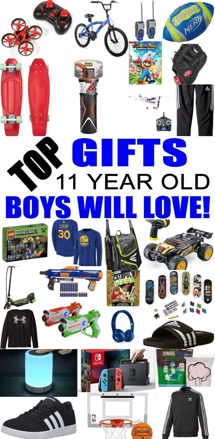 Top Gifts For 11 Year Old Boys! Best gift suggestions & presents for boys eleventh birthday or Christmas. Find the best toys for a boys 11th bday or Christmas. Shop the best boys gift ideas now for tweens & teens. #teenbirthdaygifts