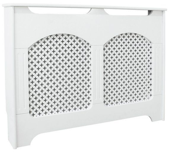 Buy Collection Winterfold Medium Radiator Cover - White at Argos.co.uk, visit Argos.co.uk to shop online for Radiator covers, Home furnishings, Home and garden