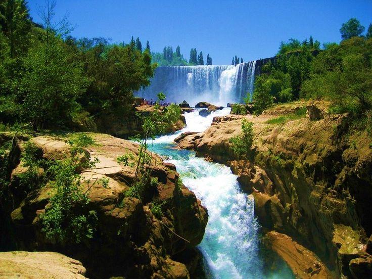 Salto del Laja waterfalls, Bío Bío Region, Chile