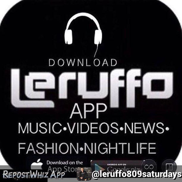 By @leruffo809saturdays via @RepostWhiz app: #hiphop and more #music Download LERUFFO APP (free) -Descarguen la app para escuchar buena musica mas de 25 djs diferentes- APOYAME DESCARGA LERUFFO APP(musica y mas) CHECK NEW MUSIC -  #MUSIC DOWNLOAD LERUFFO app Gracias por el apoyo-Descarga Leruffo app gratis- Toda la musica que te gusta esta aqui #leruffoapp @leruffoapp #hiphop #merengue #bachata #dembow #salsa #reggaeton #housemusic #edm #rock and more - Mas de 25 djs diferentes y bandas…