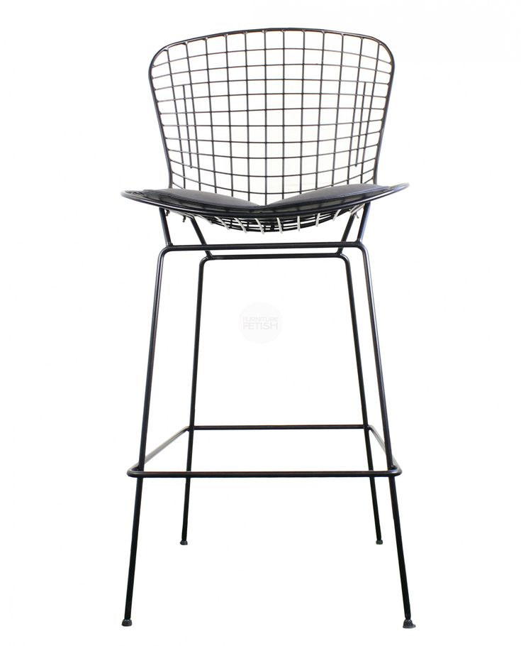 Beautiful Bertoia Wire Counter Stool
