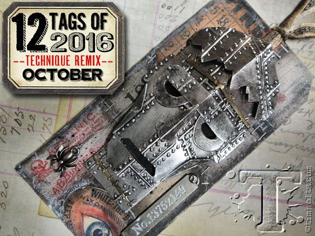 12 tags of 2016 – october…  |  Tim Holtz
