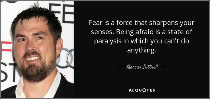 """Discover Marcus Luttrell famous and rare quotes. Share Marcus Luttrell quotes about people, way, fighting. """"Fear is a force that sharpens your senses..."""""""