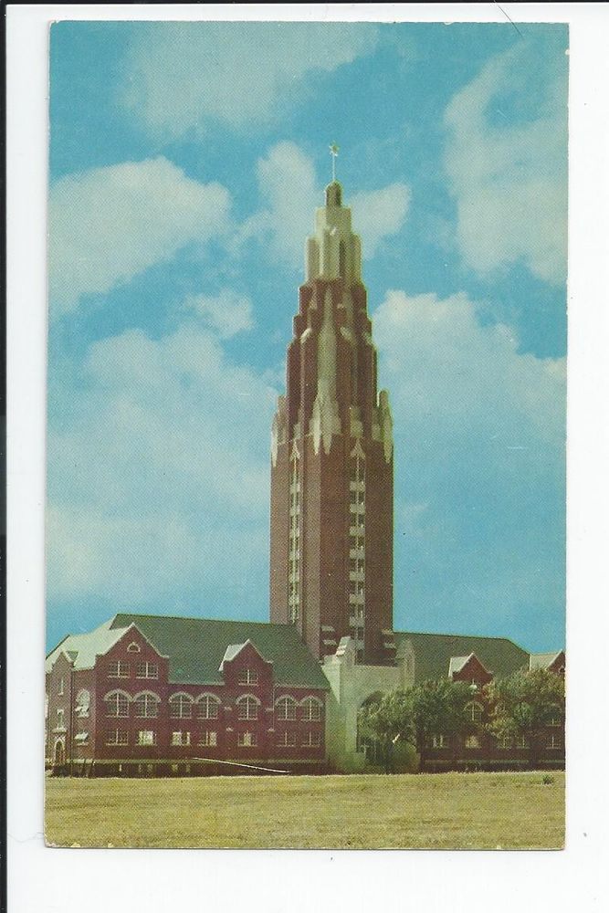 School of Religion, Library,Oklahoma City University, Oklahoma City Ok  Postcard