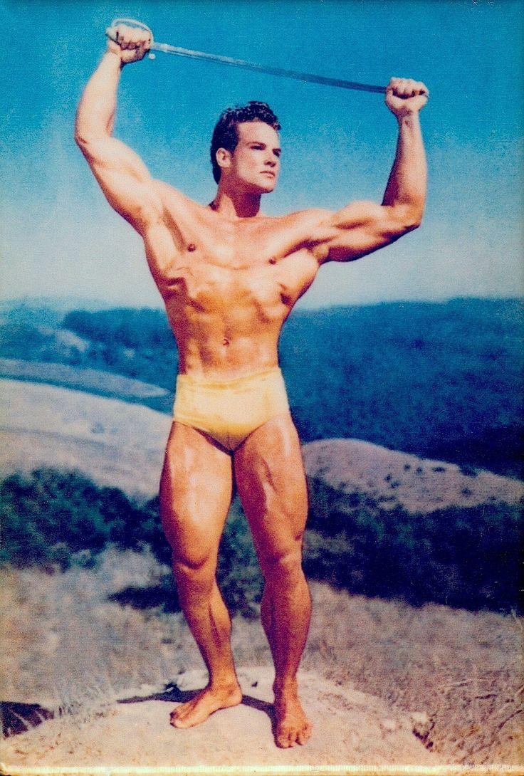 STEVE REEVES all natural Body Builder/actor (1947 Mr