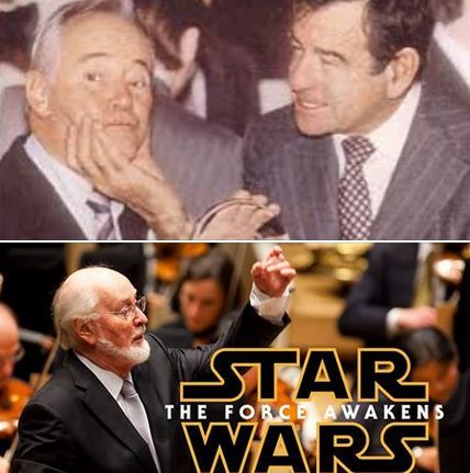 We salute these #FamousVeterans born on this date: #JackLemmon (U.S. Navy Officer WWII - shown with fellow veteran #WalterMatthau - U.S. Army Air Forces) (as well as Star Wars composer #JohnWilliams (United States Air Force). See if your favorite celeb served: FamousVeterans.com