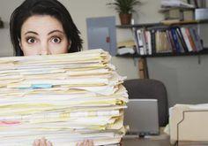 Como organizar a papelada em 5 etapas - contas e documentos - Casinha Arrumada