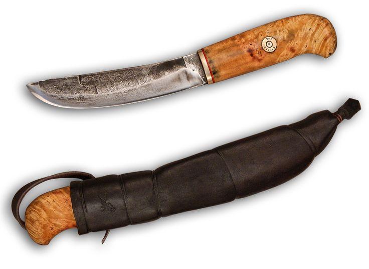 финский нож для рыболова