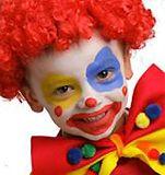 Un maquillage de clown simple à réaliser avec le maquillage Grim'tout, un maquillage à l'eau sans paraben spécialement conçu pour les peaux délicates.