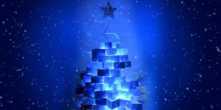 #bleuoutremer #christmas #design #businesscard