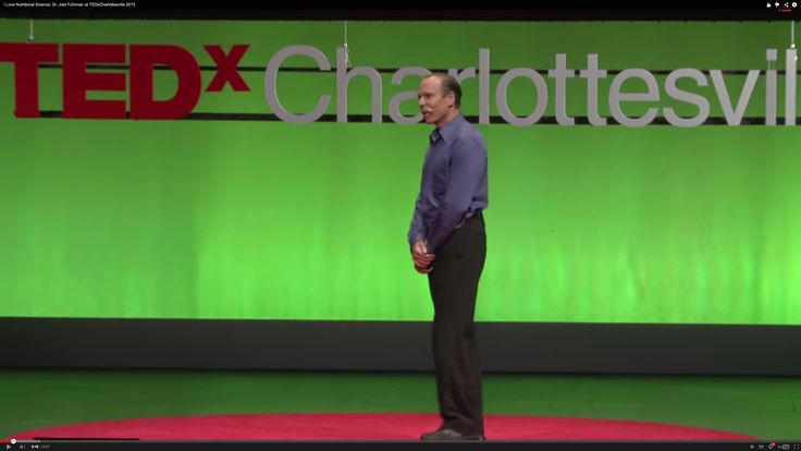 I Love Nutritional Science: Dr. Joel Fuhrman (TEDx Video)