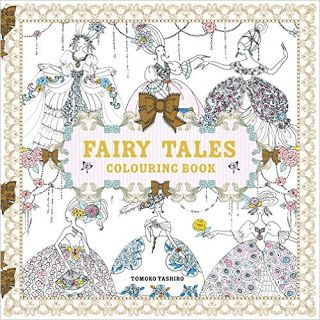 The Princesses Fairies And Fairy Tales Of Tomoko Tashiro Find This Pin More On Adult Colouring Book
