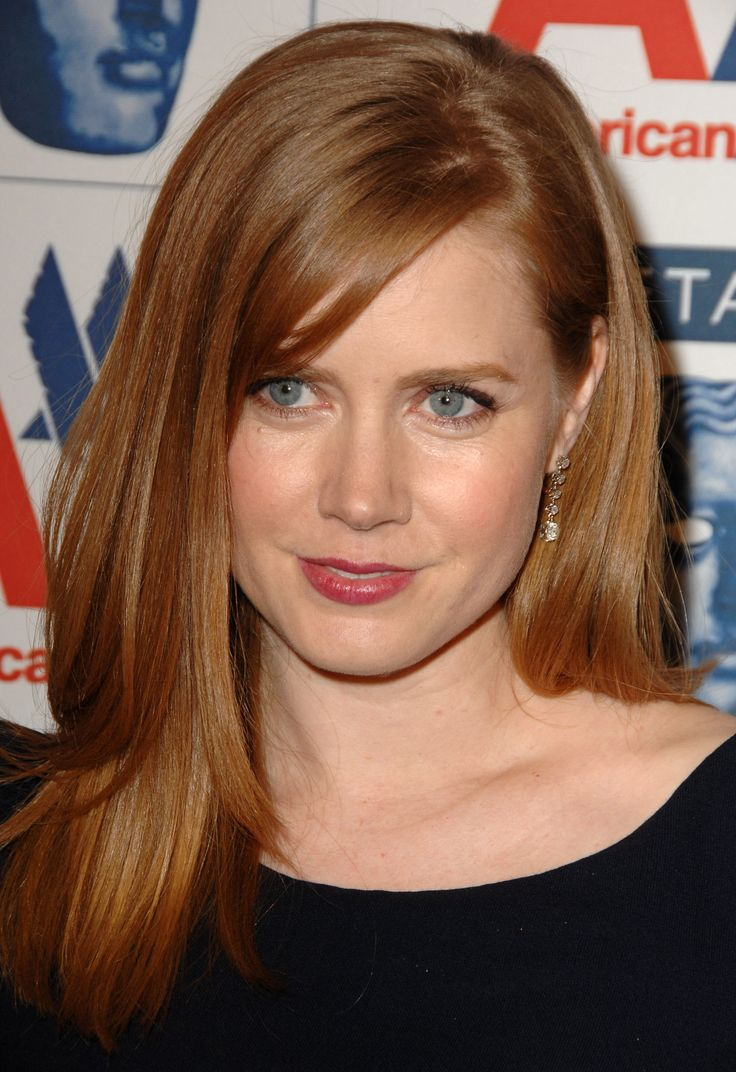 Amy Adams Strawberry Blonde Hair Pinterest