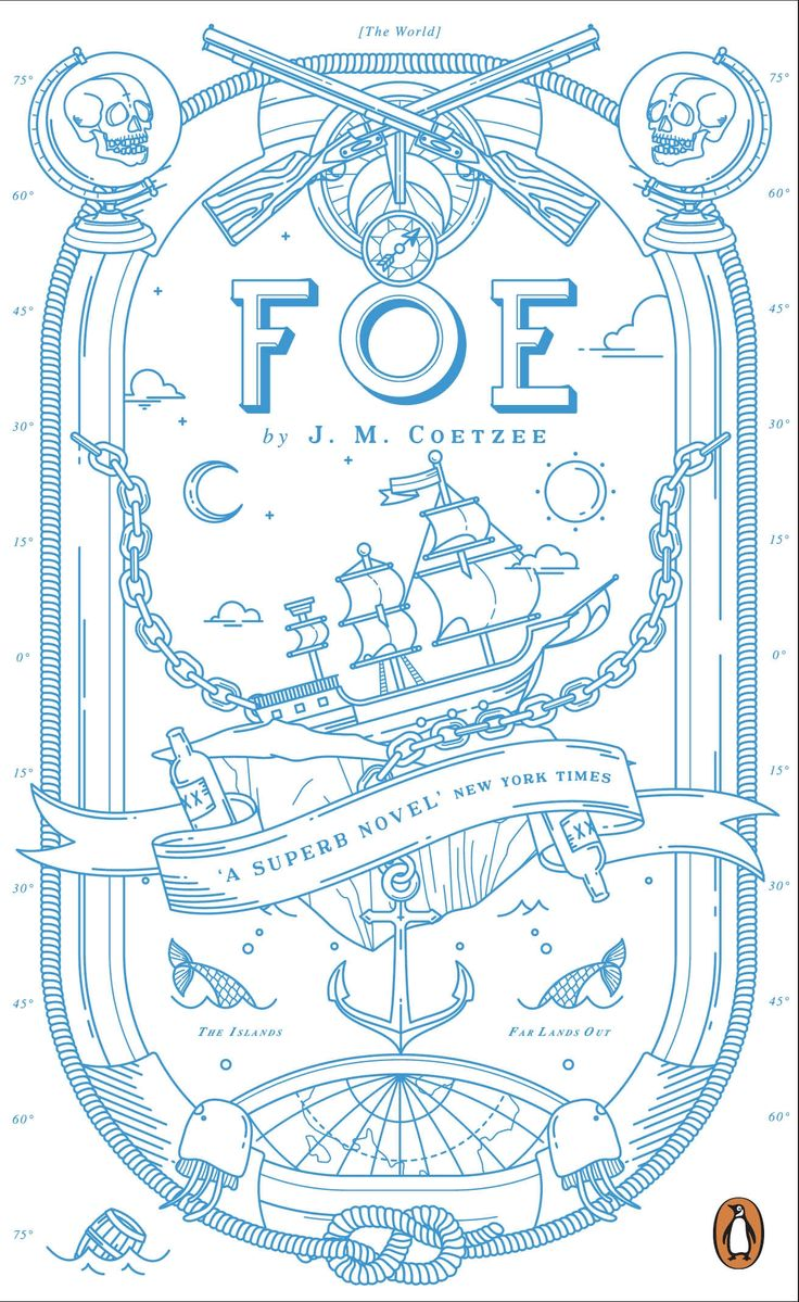 Foe by J. M. Coetzee - part of our newly designed Penguin Essentials range.