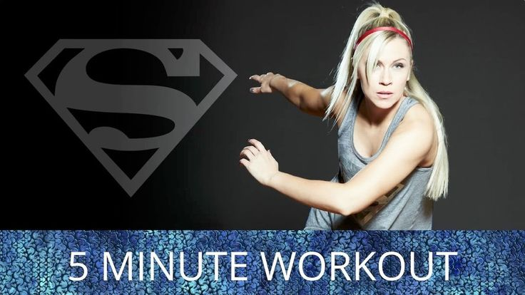5-Minute Superman Workout