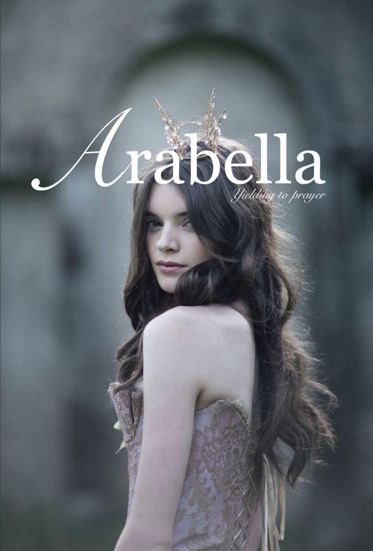 Arabella // Yielding to Prayer, God Has Heard My Prayer, Eagle // Latin. Baby girl name.
