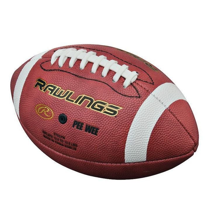 Rawlings Composite Pee Wee Football, Multicolor