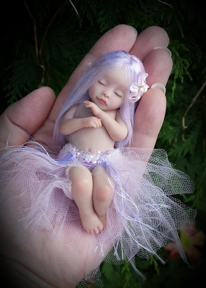 Beautiful baby fairy