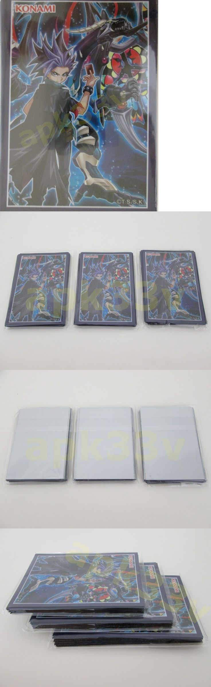 CCG Card Sleeves 183461: Yugioh Arc-V ? 60 Pcs ? Yuto Dark Requiem Xyz Dragon Sleeves Card Deck Protector -> BUY IT NOW ONLY: $59.2 on eBay!