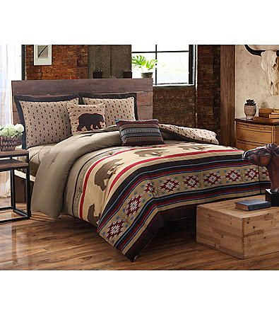 Ruff Hewn Bear Country 5 Pc Comforter Set Carson S Up