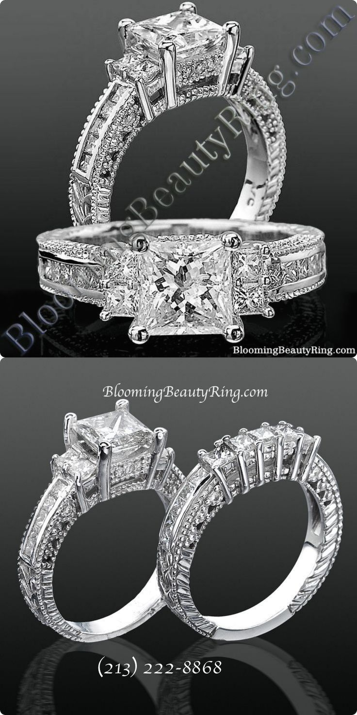 Find This Pin And More On 3 Stone Diamond Engagement Rings