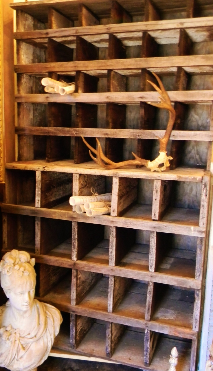 Rustic-Weathered & Perfect for Storage-Display-Childrens Crafts-