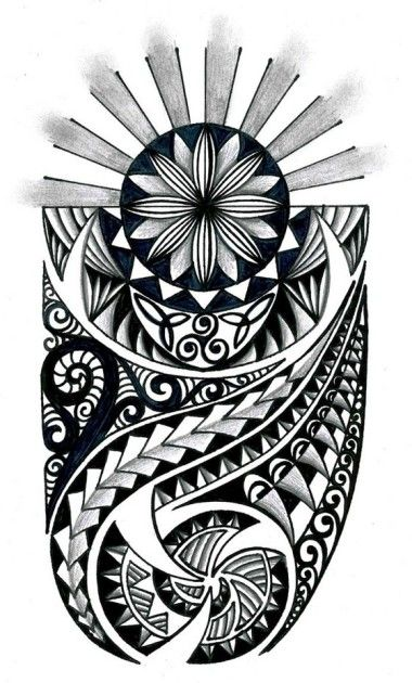 Tribal with celtic elements