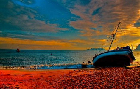 #007 Beach HD Wallpaper