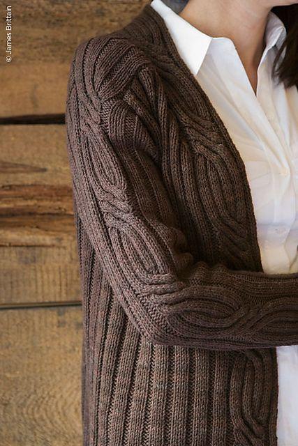 Knitting Pattern: Eadon cardigan
