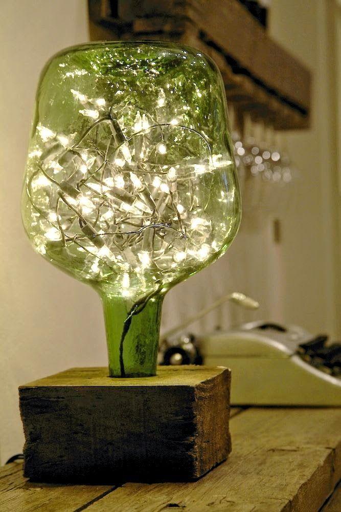 Las 25 mejores ideas sobre luces de navidad en pinterest for Luces colgantes para jardin