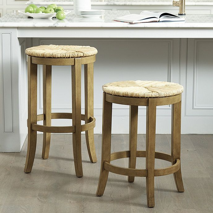 Marguerite Backless Stools With Images Wooden Bar Stools Bar Stools Rustic Stools