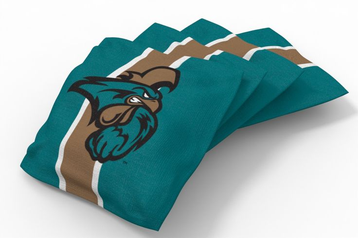 Coastal Carolina Chanticleers Stripe Bean Bags-4pk (B)
