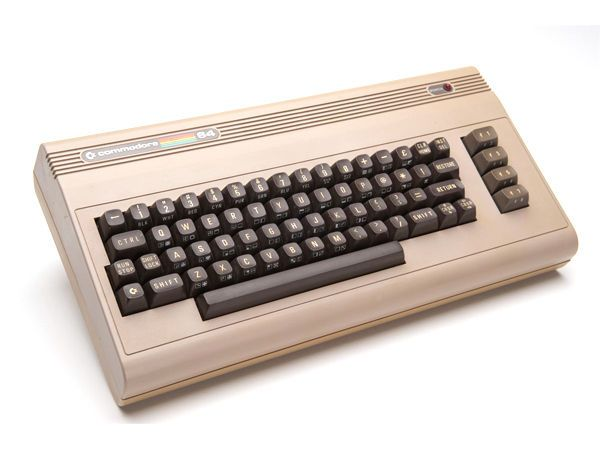 Commodore 64. I logged serious hours on this.