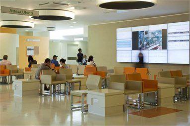 Sala d'attesa pronto soccorso dell'ospedale di Parma