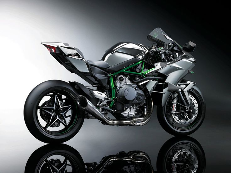 the 2015 kawasaki 'ninja H2R' arrived at cologne's international motorcycle, scooter and e-bike fair - intermot