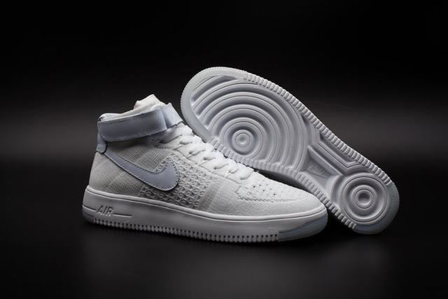 aire force one pas chere air force 1 flyknit blanche homme