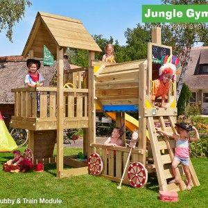 NEW Jungle Gym Train Module now avaiklabl - Jungle Gym Climbing Frames