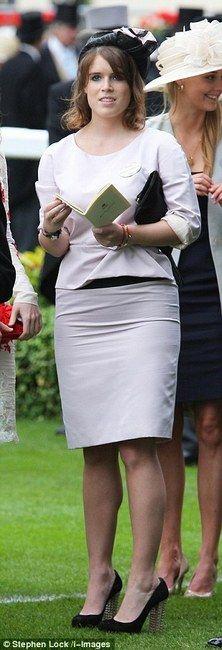 Princess Eugenie of York and Paule Ka Ottoman Dress, Anya ...