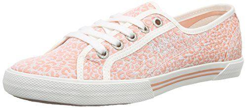 Pepe Jeans London ABERLADY POP, Damen Sneakers, Mehrfarbig (312PETAL), 40 EU - http://uhr.haus/pepe-jeans/pepe-jeans-london-aberlady-pop-damen-sneakers-40