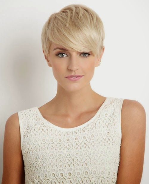 Cute Pixie Cut with Bangs