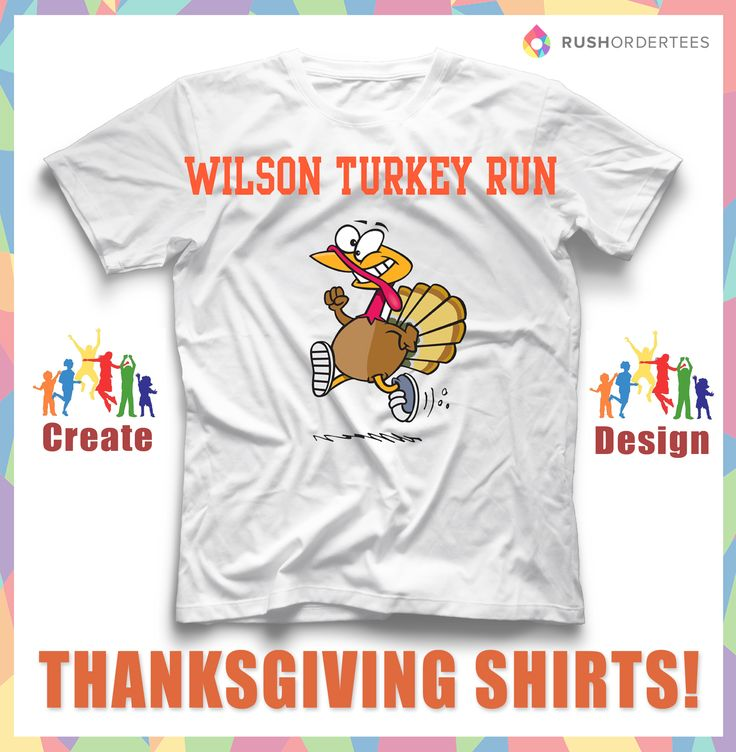 16 best images about thanksgiving t shirt design idea 39 s on for Single order custom t shirts